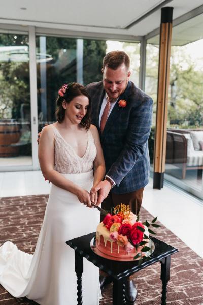 Brad & Liz 1st Wedding